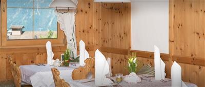 Innenansicht eines traditionellen Gasthaus