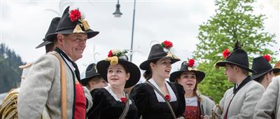 Traditional Tyrolean clothes